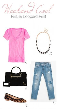 Weekend Cool Leopard & Pink