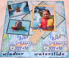 Windsor waterslide - Scrapjazz.com