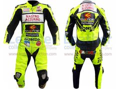 Valentino Rossi Nastro Azzurro Honda MotoGP Leathers  https://www.leathercollection.com/en-we/valentino-rossi-nastro-azzurro-honda-motogp-leathers.html  #Valentino_Rossi_Nastro_Azzurro, #Valentino_Rossi_Nastro_Azzurro_Honda_MotoGP_Leathers, #Vr46_Clothing