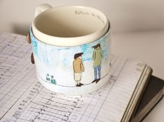 If your after something amazing get one of these mugs by Lucy Ann Harding
