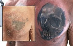 Cover up with skull