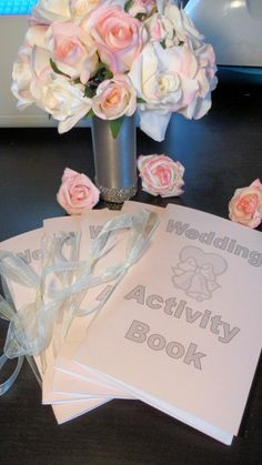 Wedding Scrap Activity Book With Crayons And Box