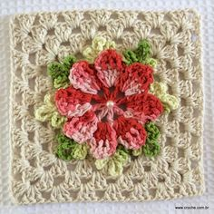 Freeform Crochet - Tutorial Bolero Fácil Crochet o Ganchil Crochet Square Blanket, Granny Square Crochet Pattern, Crochet Squares, Crochet Granny, Crochet Motifs, Freeform Crochet, Crochet Patterns, Crochet Bear, Free Crochet