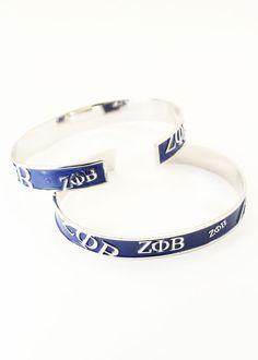 Zeta Phi Beta bracelets
