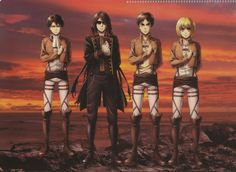Oh muy good :'v Aot Armin, Ereri, Levi Ackerman, Awesome Anime, Anime Love, Anime Manga, Anime Art, Aot Characters, Rivamika