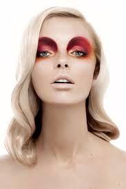 Image result for avant garde runway makeup