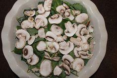 Make-Ahead Breakfast Strata with Mushrooms {Via @Andrea @Vegvacious}
