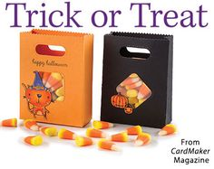 Trick or Treat from the Autumn 2016 issue of CardMaker Magazine. Order a digital copy here: https://www.anniescatalog.com/detail.html?prod_id=132520