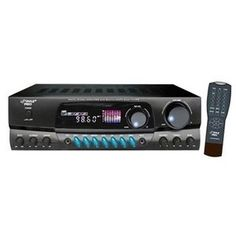 Pyle PT260A 200 Watts Digital AM/FM Stereo Receiver by Pyle. $89.95. Condition: New - * Power main: 50W x 2 at 8 ohm 100W x 2 at 4 ohm * Stereo Amplifier With A/B Speaker Output * AM/FM Radio With Digital Display Screen * Auto Scan,Memory, Radio Station PREVIOUS/NEXT control * 50 Radio Station Pre-Set Memory * Volume/Balance/TREBLE/BASS Gain Control For Main Channel * VOLUME/BASS/TREBLE/ECHO Control For Microphone * Two Microphone Input JackS * Three RCA Input Source * 1...