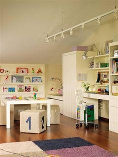 Claves para organizar el cuarto de los niños · ElMueble.com · Niños