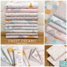 Maude Asbury - Sweet Dreams Fabric Collection