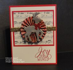 Holly Jolly Stamp-a-Stack | StampAndCreate.net