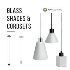 Can't find the right pendant for your space? Then why not build your own from our extensive range of cordsets and glass shades separates!   Simply choose your cordset (from Plain Black cords to Antique Brass Chains), then choose your shade style. Whether you're looking for simple white Opal glass, bold colous or a textured finish, we've got a huge selection of glass shades to complete your pendant look.   #diy #diypendants #cordsets #pendants #mixandmatch #decorativelighting #lighting… White Opal, Plain Black, Brass Chain, Pendant Lights, Separates, Cords, Light Decorations, Glass Shades, Antique Brass
