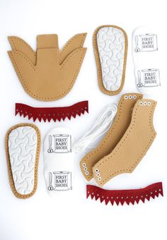 Natural durable leather and high quality styrogum soles make First Baby Shoes perfect for first steps.First Baby Shoes produces truly handmade baby shoes for toddlers. Our soft sole leather baby shoes, moccasins and DIY baby shoes make the perfect ba Baby Moccasin Pattern, Baby Shoes Pattern, Handgemachtes Baby, First Baby, Doll Shoe Patterns, Clothes Patterns, Dress Patterns, Cute Baby Shoes, Leather Baby Shoes
