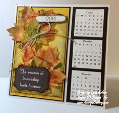 Season of Friendship - Stamping with Avery's Owlery Make A Calendar, Today Calendar, Calendar Ideas, Desk Calendars, Advent Calendars, Mason Dixon Line, Stamping Up, Accent Colors, Friendship