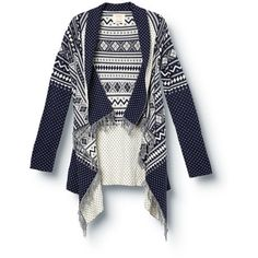 Snow Blanket Sweater ($85) ❤ liked on Polyvore