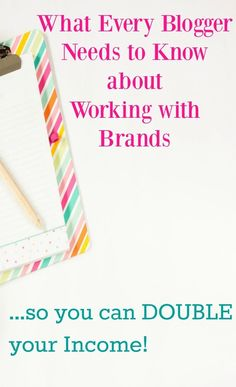 You can be making so much more from your blog by working with brands. This is everything you need to find them, stand out, and increase your income.