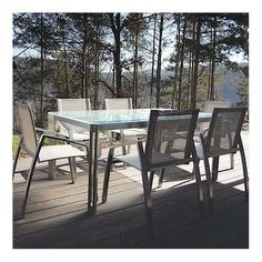 ARIA dining tables or coffee table, Clear Glass version, by TODUS, great choice of dimensions, robust, clean lines: perfect for use on the terrace or in your living room