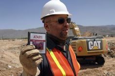 "Atari E.T. game from landfill dig.  Watch the movie ""Game Over"" on Netflix to hear more of this crazy story!"