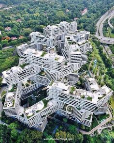 The Interlace apartments, Singapore, by OMA/Ole Scheeren Photo by @jsnjnr