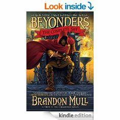 Amazon.com: Brandon Mull's Beyonders Trilogy: Son read in third grade. Reading level of grade 5.
