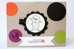 Googly Ghouls Haloween by Kimrothstamps - Cards and Paper Crafts at Splitcoaststampers
