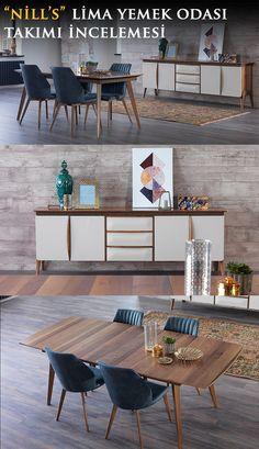 En seçkin mobilya markalarından ve tasarımları ile fark yaratan Nill's Mobilya tarafından üretilen Lima Yemek Odasını sizler için inceledik.