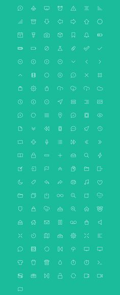 Meet Tervel: a pixel-perfect vector line icon set.  (150+ icons included, fully editable AI file and an icon font)  Buy it on the CreativeMarket: http://crtv.mk/qNgM