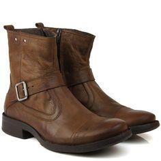 Bota Masculina Black Boots Bm02 Marrom - BlackBoots