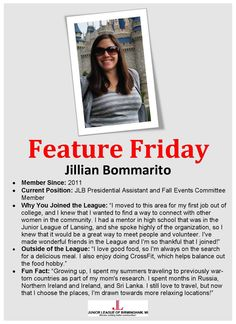 Junior League of Birmingham 2014-2015 Presidential Assistant and Fall Events Member