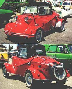 STRANGE LITTLE OLD RED CAR - MESSERSCHMIDT