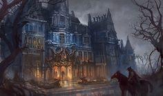 fantasy dark chapel - Szukaj w Google