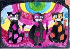 chats fetres by Mae Maevina