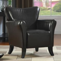 Brown winged dark brown leather chair zoostores chair 399 chair