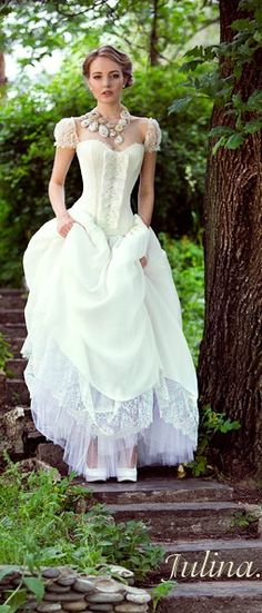 princess wedding dress, by Julina