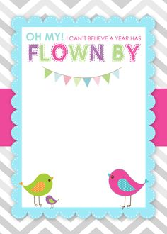 Happy birthday invitation cards in hindi birthday invitations bird themed birthday party with free printables filmwisefo Images