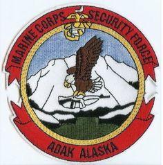 USMC Marine Corps Security Force Company ADAK Alaska ! PATCH Marines SFCo Adak !