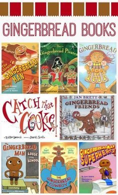 Gingerbread Man Books (from Fantastic Fun & Learning)
