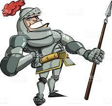 Мультяшный рыцарь картинки