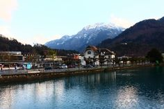 #Interlaken e #Thum por blog Vícios de Viagem