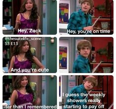 """★Suite Life on Deck◆◇◆London's """"Twin""""  creeped me out.. she was all trying to kiss him in this Episode"""
