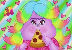 Lady Glitter Sparkles from Trolls by Deizy