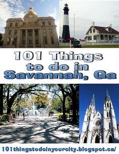 101 Things to do in Savannah, Ga - The FamilyNow Sun