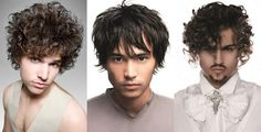 Men's Triangular Face Shape Hairstyle Examples