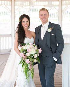 Whitney and Stosh- photo credit Cadey Reisner Weddings.. . #BlackHillsReceptions