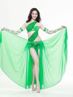 Dança do Ventre em verde