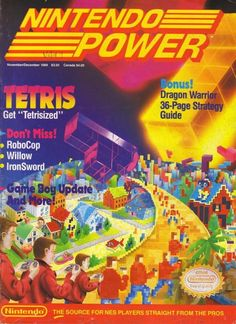 Nintendo Power issue 9. Never would have made it without that Dragon Warrior strategy guide, bro. #thanksbro www.thanks-bro.com