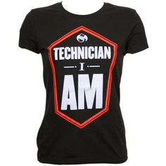 Tech N9ne - Black Technician I Am Ladies T-Shirt 24.99