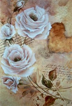 tuscan rose this project includes roses painted on a stippled