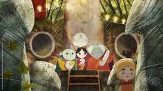 """CATSUKA - New stills from """"Song of the Sea"""" animated feature..."""